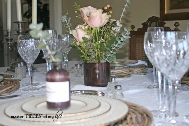 Romantic tablescape for 4-1
