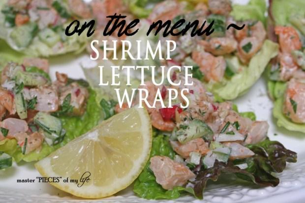 Shrimp lettuce wraps