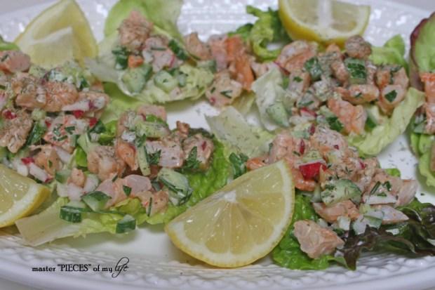 Shrimp lettuce wraps2