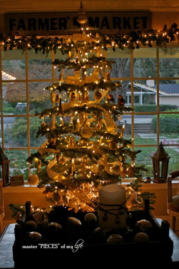 Christmas silver tip tree13