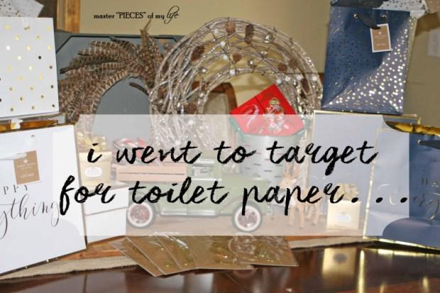 Target toilet paper