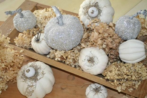 Glitter pumpkins 11