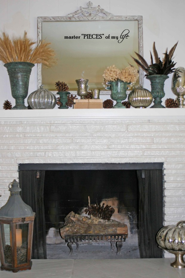 Fall mantel&fireplace1