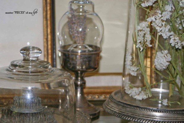 Cloches & dried flowers13
