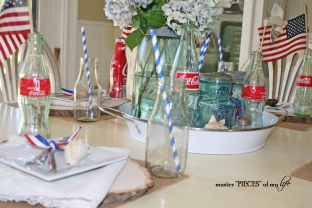 Americana tablescape 3