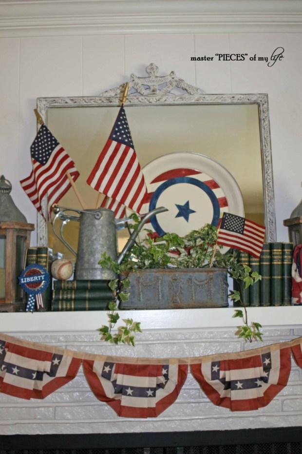 Patriotic mantel 3