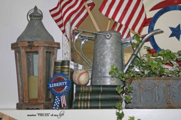 Patriotic mantel 5