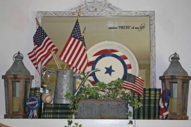 Patriotic mantel 7