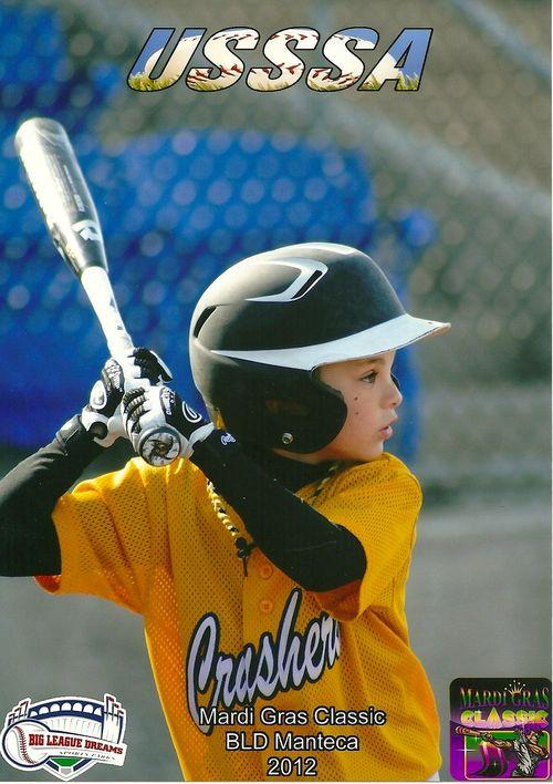 Crushers at bat closeup
