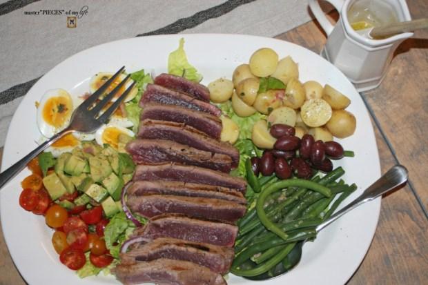 CA style nicoise salad 7