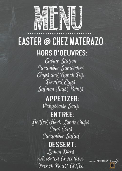 Easter Menu Ideas2