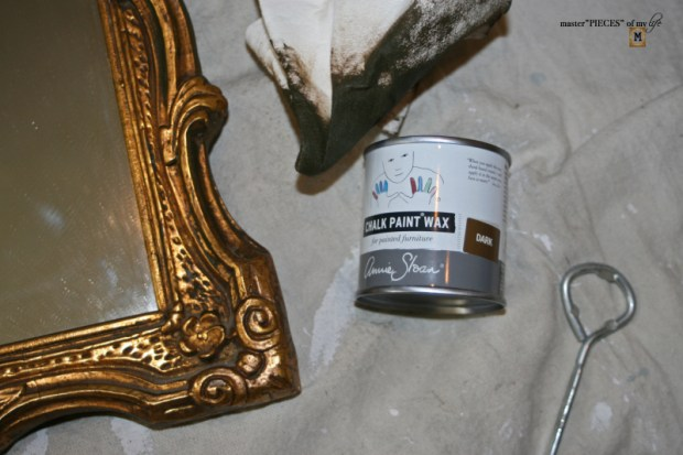 How to antique mirror7