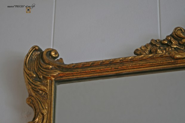 How to antique mirror9