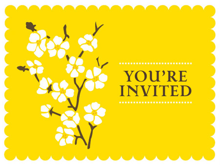 Blossom youre invited