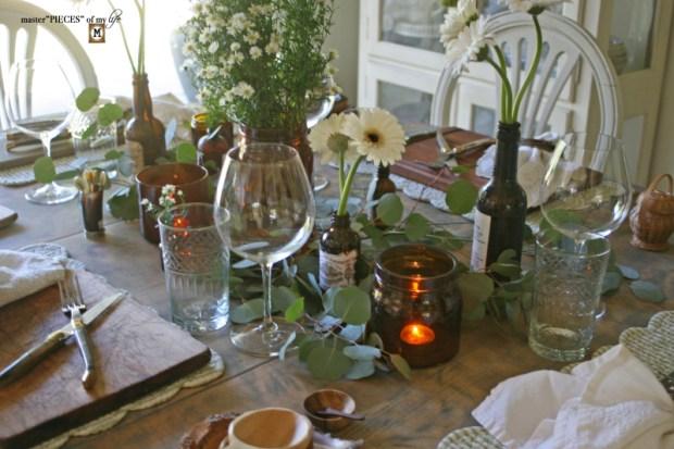 Rustic casual summer tablescape2
