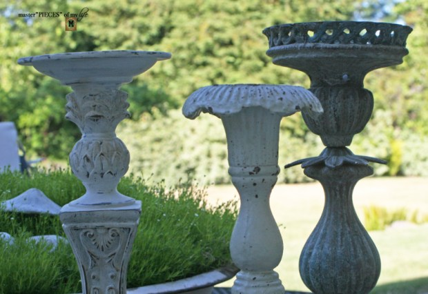 Faux cast iron candlestick9