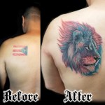 Realistic Lion Tattoo Done At Masterpiece Tattoo By Brian Martinez