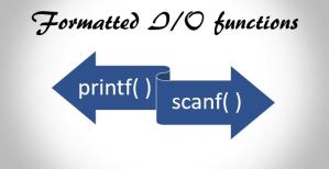 input output function in C