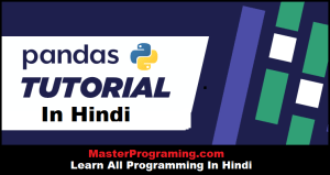 Python Pandas In Hindi
