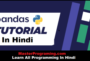 Python Pandas In Hindi