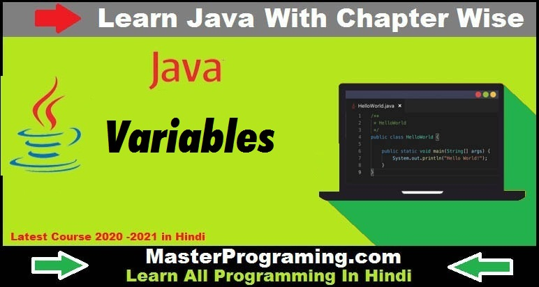 Java Variables