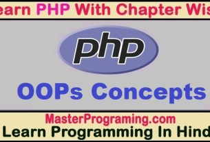 PHP OOps