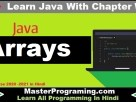 Java Arrays