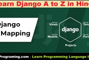 Django URL Mapping