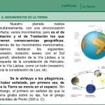 EL PLANETA TIERRA: CARACTERÍSTICAS, MOVIMIENTOS Y CONSECUENCIAS