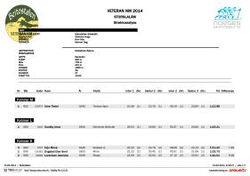 VeteranNM 2014 Storslalåm strekkanalyse side 1