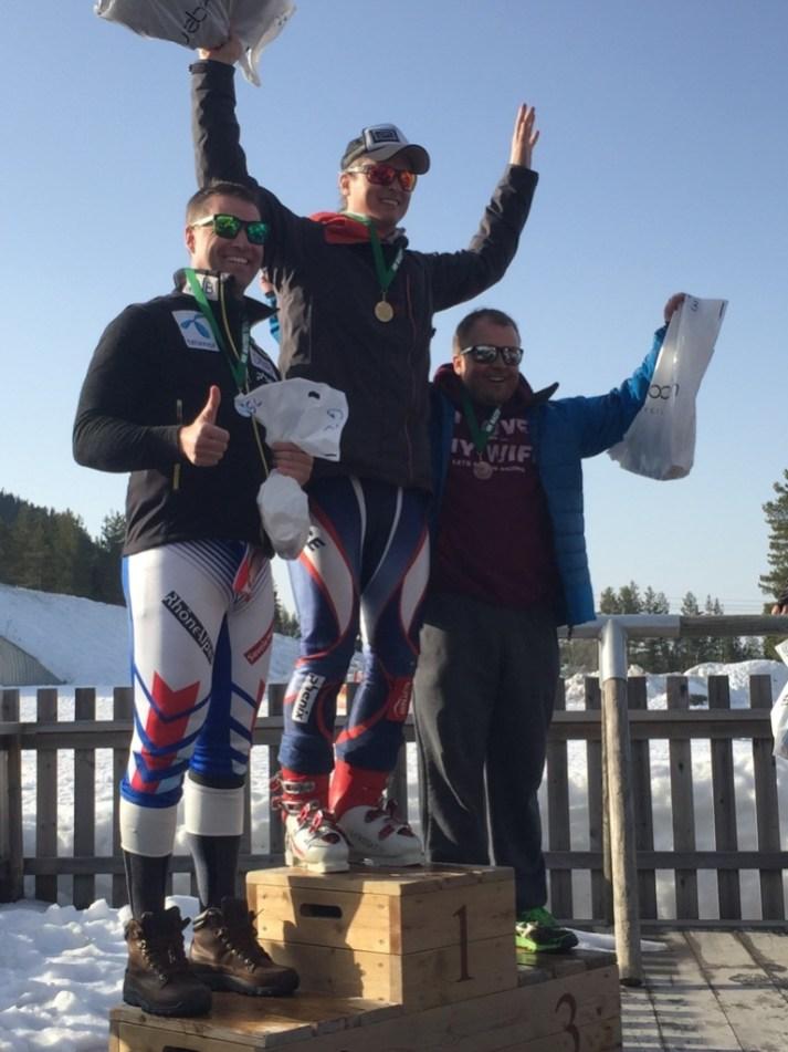 GS klasse G med Bjarne Solbakken 1 plass NM MastersAlpint20180415