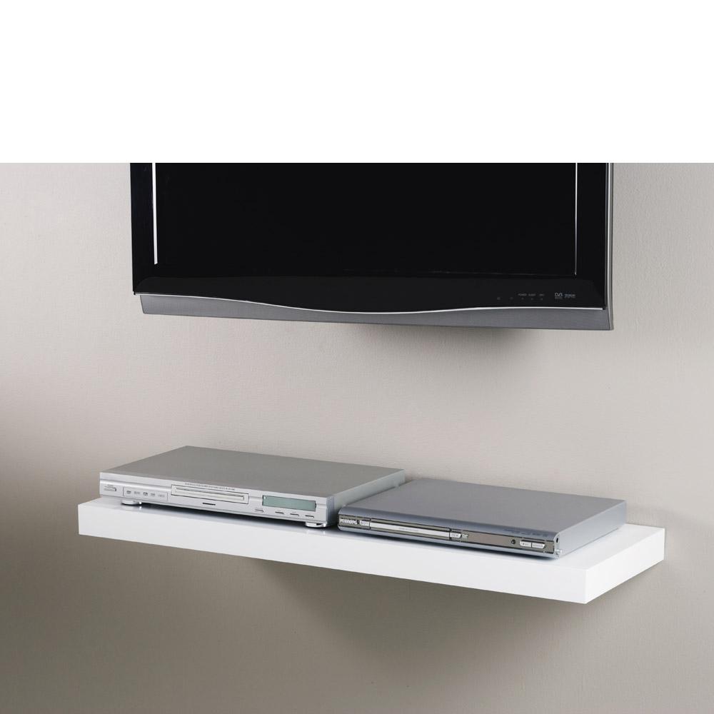 White Floating Shelf Kit 900x300x50mm Mastershelf