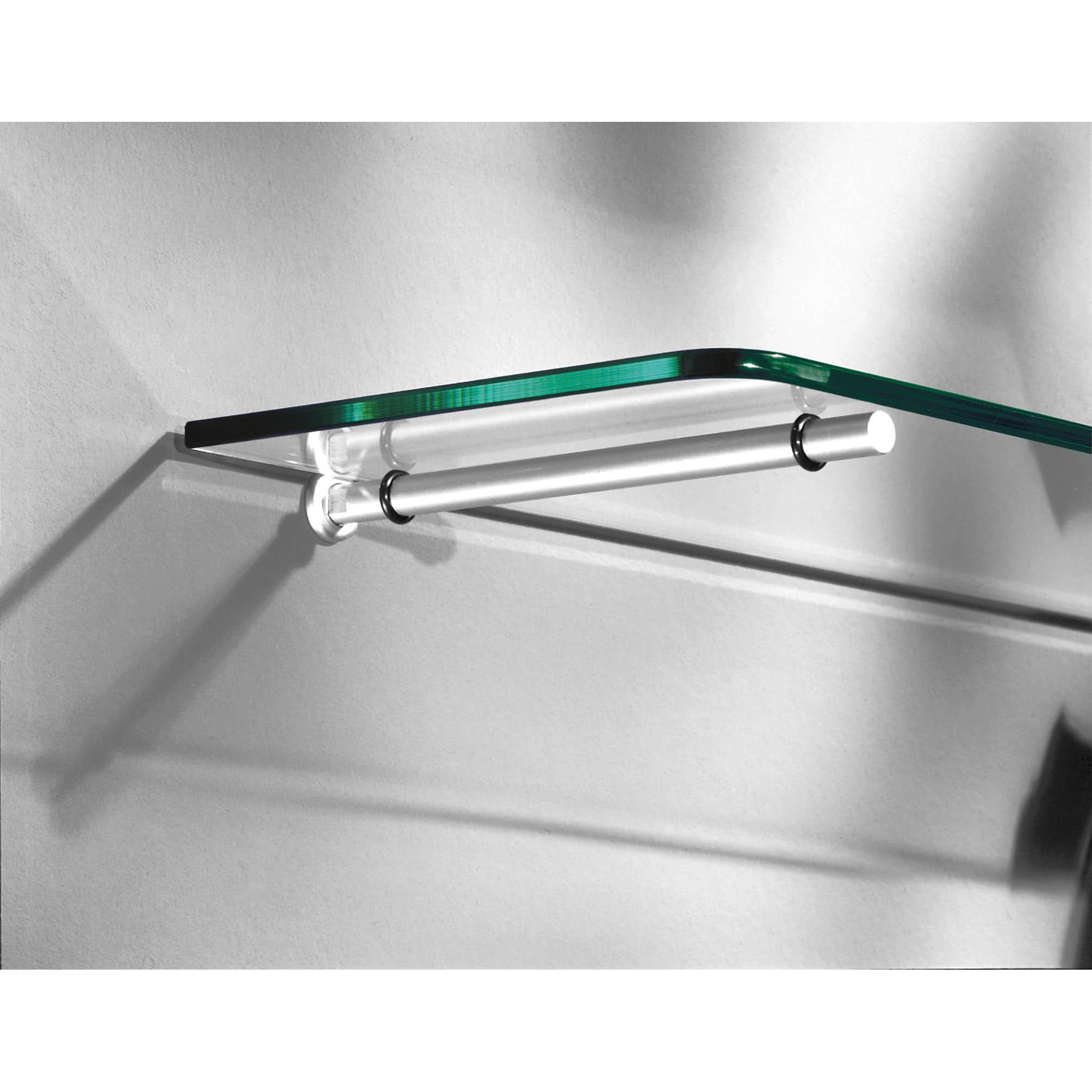 Atlas Set Floating Glass Bracket 200x12mm Pair