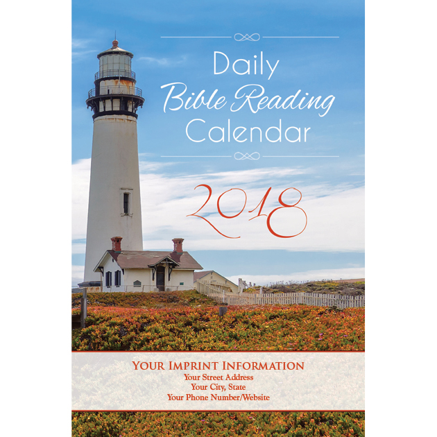 The Lighthouse 2018 Daily Bible Reading Calendar