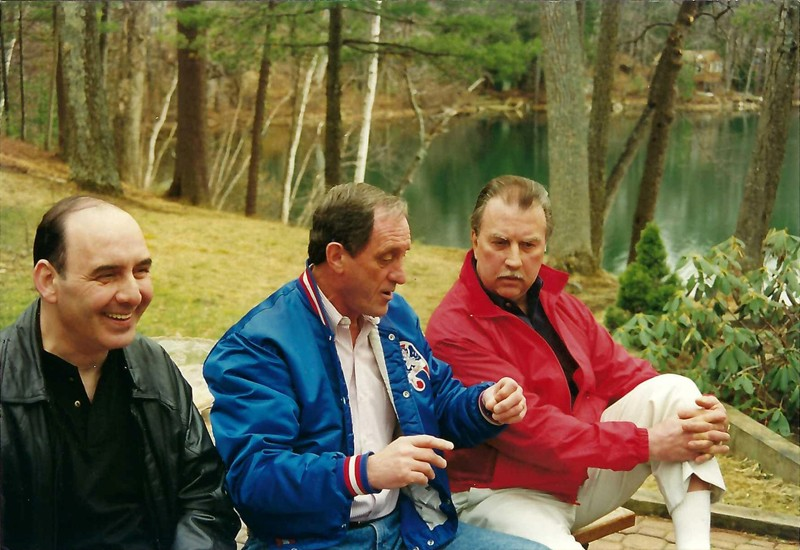 Bob Devlin, Paul DeBasio, and Gerry Shellmer