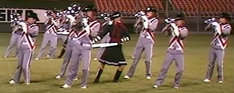 1977 Crossmen Drum and Bugle Corps