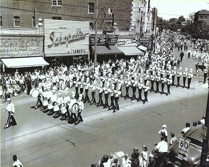 Lt. Norman Prince Drum and Bugle Corps, late 1940s