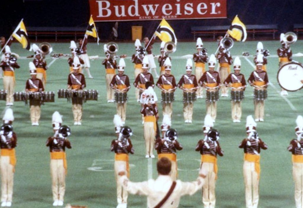 Garfield Cadets at Giants Stadium, East Rutherford, NJ - 1985