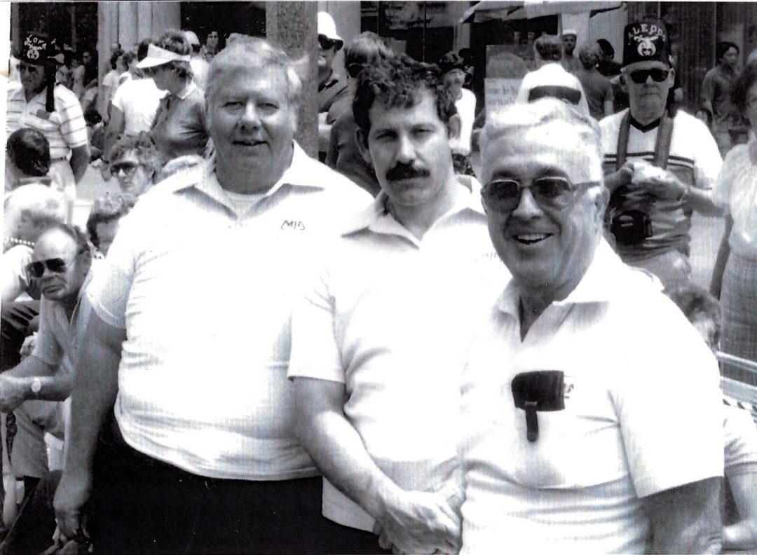 Ed Denon, Al Yesue, and Jack Whelan