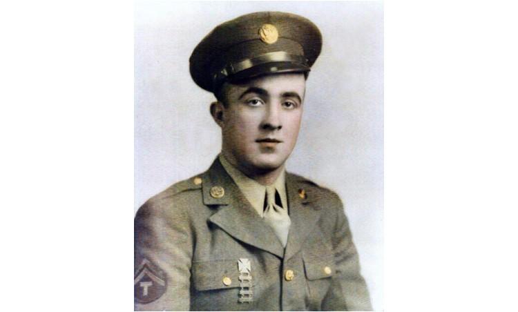 Jack Whelan in Marine uniform