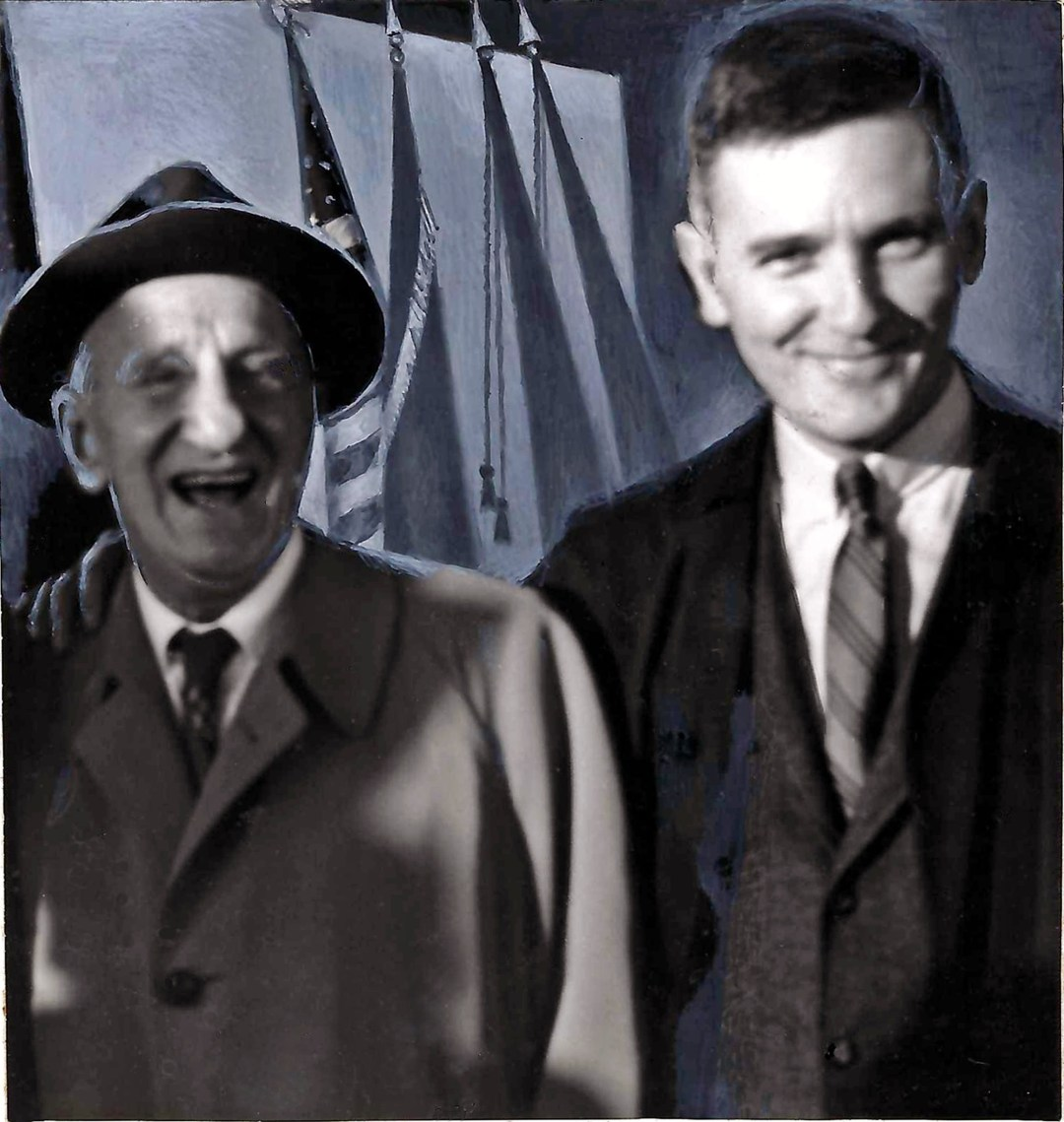 Jimmy Durante with Ed Rooney
