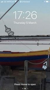 A screenshot from my phone of the salins de gruissan.