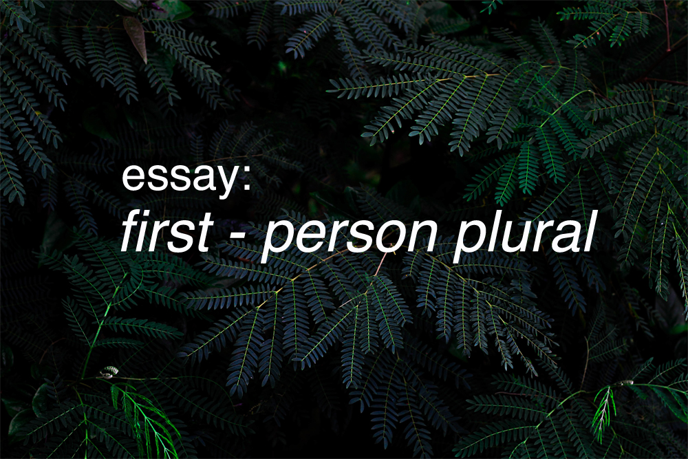 first-person-plural