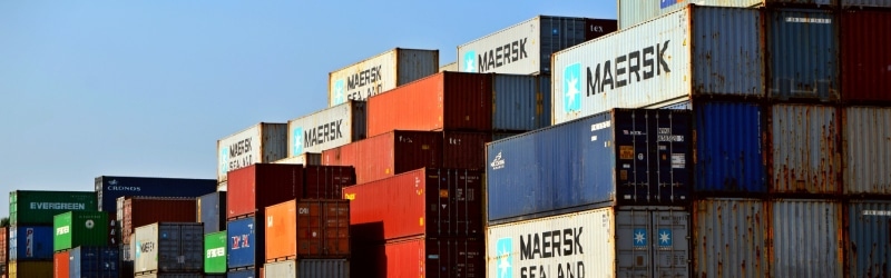Full Container Load Shipping Containers