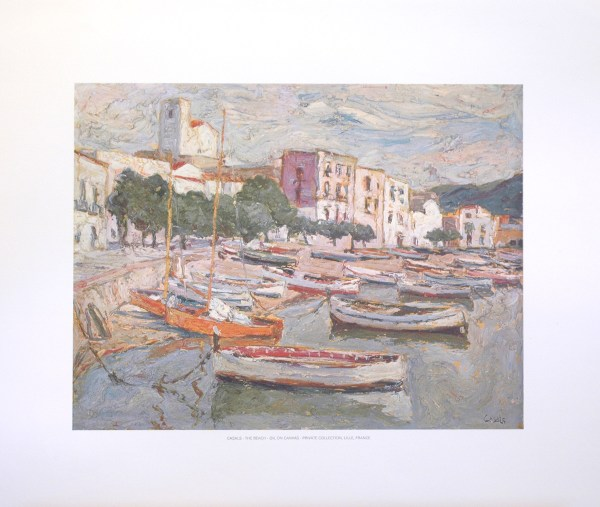 CASALS - THE BEACH (LITHOGRAPH)