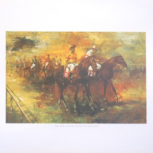 VILMON - JOCKEYS (LITHOGRAPH)