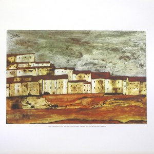 YSASI - SPANISH VILLAGE (LITHOGRAPH)