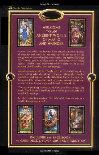 The Gilded Tarot (Boxset includes 78 card Tarot deck)