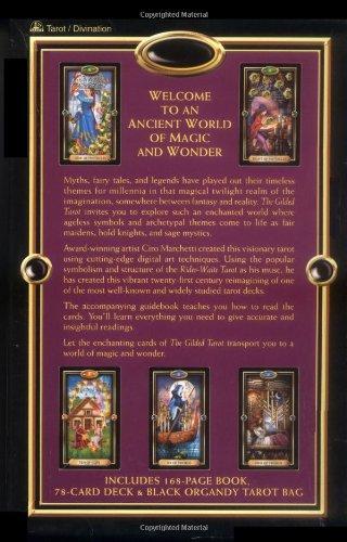 The Gilded Tarot (Boxset includes 78 card Tarot deck)
