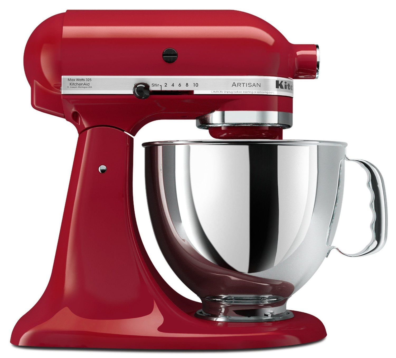 KitchenAid Empire Red 5 Quart Artisan Series Stand Mixer